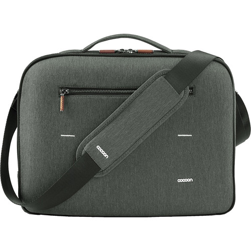 "Cocoon Graphite Brief 13"" MacBook Pro Laptop Bag with GRID-IT!"