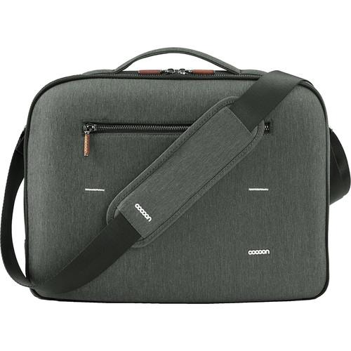 "Cocoon Graphite Brief 15"" MacBook Pro Laptop Bag with GRID-IT!"