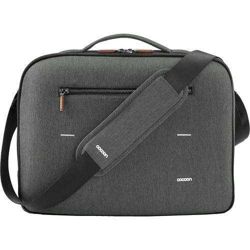 "Cocoon Cocoon - GRID-IT! Graphite Brief for MacBook Pro / Laptop up to 15.4"" (Graphite Gray)"