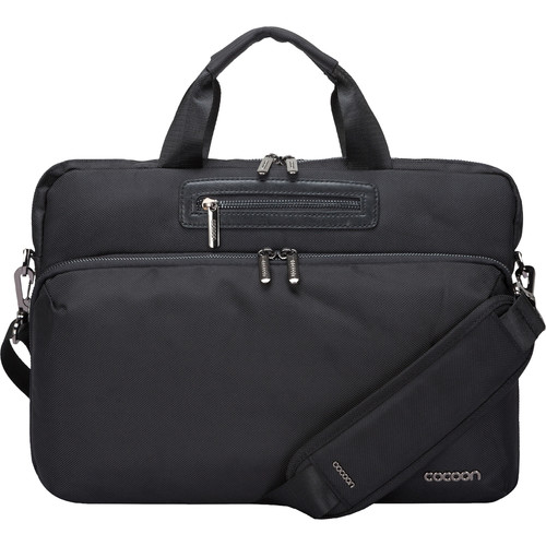 "Cocoon GRID-IT! Buena Vista Slim Brief for MacBook/Laptop up to 16"" (Black)"