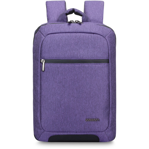 "Cocoon Slim Backpack for Laptop Up to 15.6"" & Tablet Up to 10"" (Purple)"
