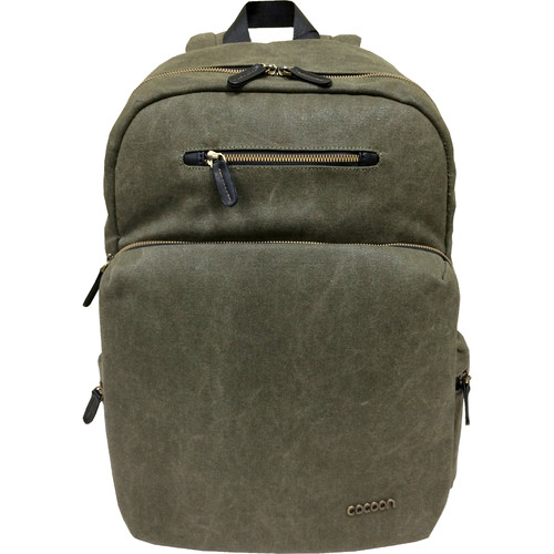 "Cocoon Urban Adventure Backpack for Laptop up to 16"" (Army Green)"