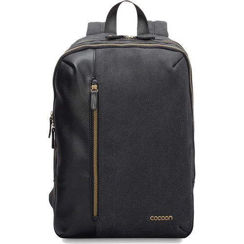 Cocoon Urban Adventure Slim Backpack for Laptop up to 16 & Tablet up to 10 (Black)