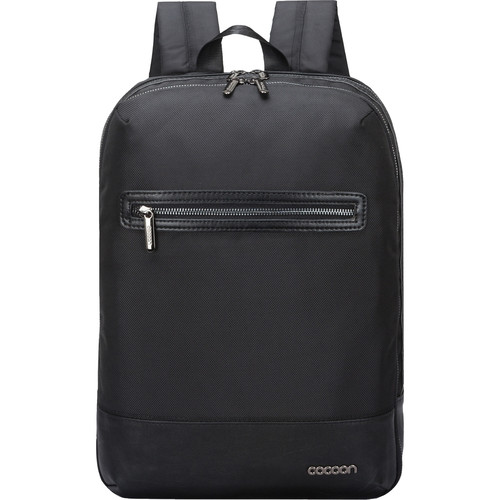 "Cocoon Buena Vista Slim Backpack for MacBook/Laptop up to 16"" (Black)"