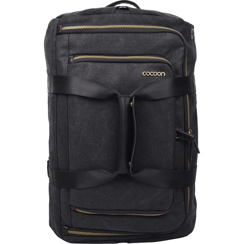 """Cocoon Urban Adventure Convertible Carry-On Travel Backpack for Laptop up to 17"""" (Black)"""