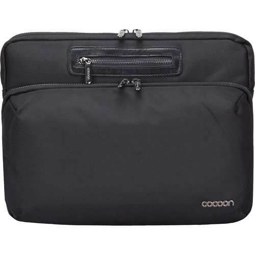"Cocoon Buena Vista Sleeve for Laptop/MacBook Up to 13.3"" (Black)"