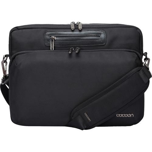 """Cocoon Buena Vista Messenger Sling for Laptop up to 13"""" (Black)"""