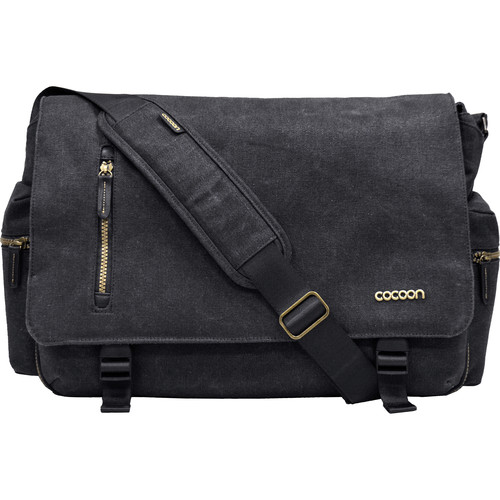 "Cocoon Urban Adventure Messenger Bag for Laptop up to 16"" (Black)"