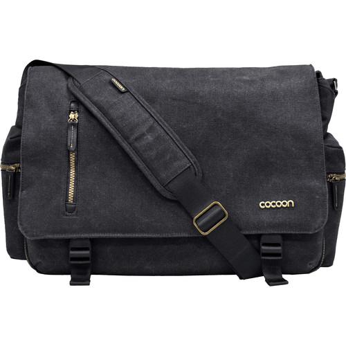 "Cocoon Urban Adventure Messenger Bag for Laptop up to 16"" (Black)"