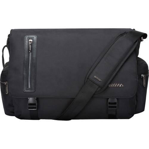 "Cocoon 16"" Buena Vista Messenger Bag (Black)"