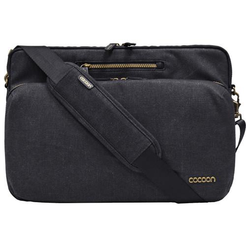 "Cocoon Urban Adventure Messenger Sling for MacBookPro /Laptop up to 16"" (Black)"