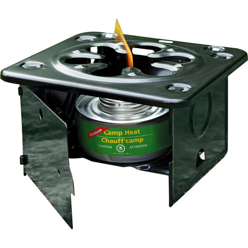 Coghlan's Folding Camp Stove Kit with Fire Steel & Compass