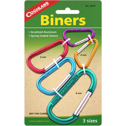 Coghlan's Multi-Pack Biners (5-Pack)