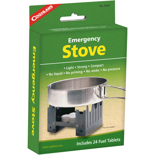 Coghlan's Emergency Stove with 24 Fuel Tablets