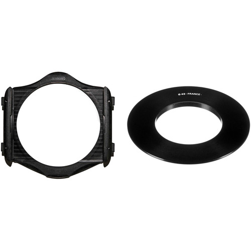 Cokin Cokin P Series Filter Holder and 49mm P Series Filter Holder Adapter Ring Kit