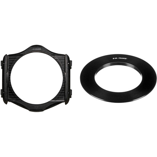 Cokin P Series Filter Holder and 55mm P Series Filter Holder Adapter Ring Kit