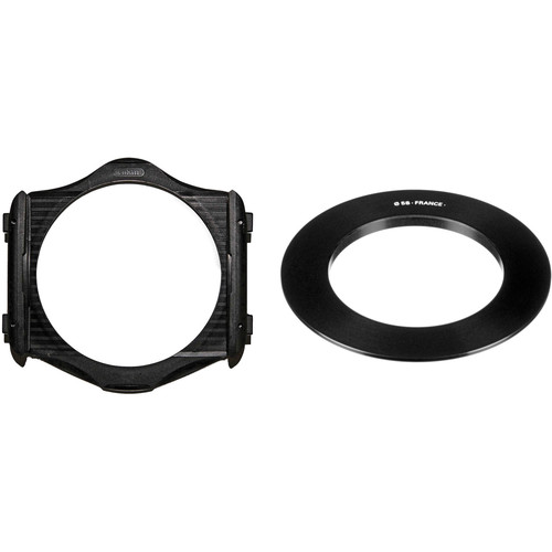 Cokin P Series Filter Holder and 58mm P Series Filter Holder Adapter Ring Kit