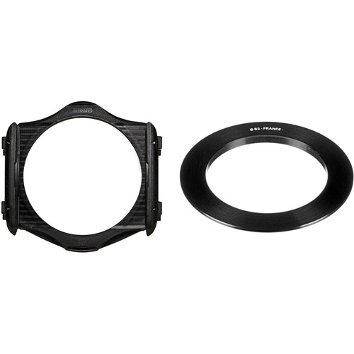 Cokin P Series Filter Holder and 62mm P Series Filter Holder Adapter Ring Kit