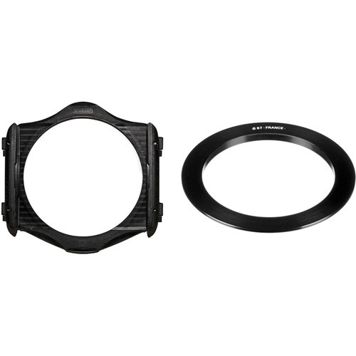 Cokin P Series Filter Holder and 67mm P Series Filter Holder Adapter Ring Kit