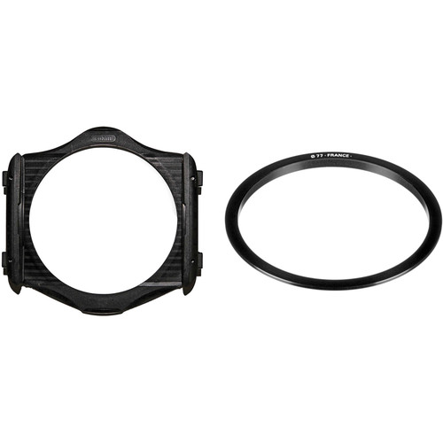 Cokin P Series Filter Holder and 77mm P Series Filter Holder Adapter Ring Kit
