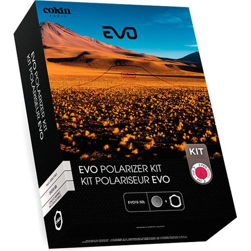 Cokin Evo Aluminum Z-Pro Series Filter Holder and 105mm Circular Polarizer Filter Kit