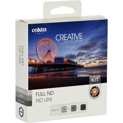 Cokin P Series 0.3, 0.6, and 0.9 ND Filter Kit (1, 2, 3-Stop)