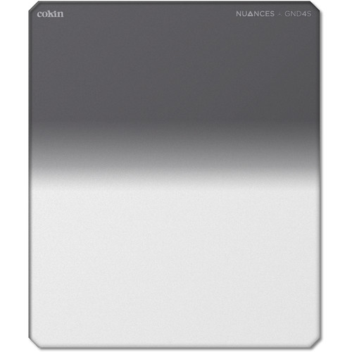 Cokin NUANCES P Series Soft-Edge Graduated Neutral Density 0.6 Filter (2-Stop)