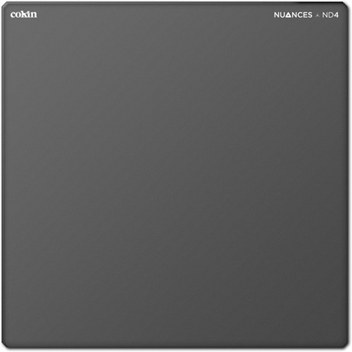 "Cokin 4 x 4"" NUANCES Neutral Density 0.6 Filter"