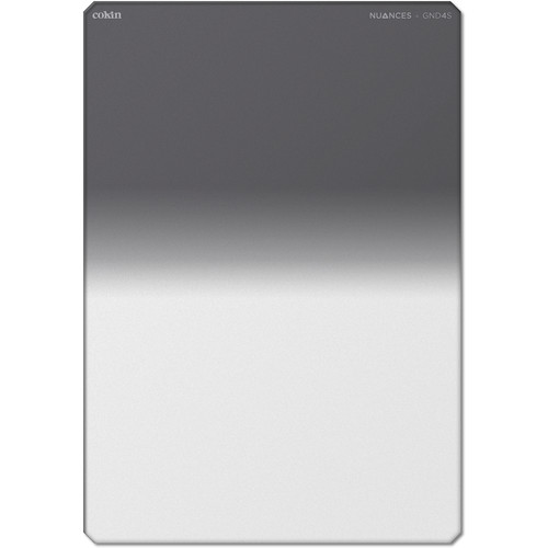 Cokin NUANCES Z-Pro Series Soft-Edge Graduated Neutral Density 0.6 Filter (2-Stop)