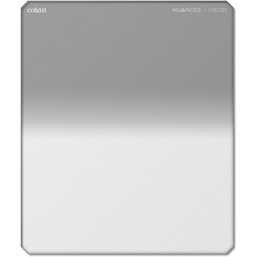 Cokin NUANCES P Series Soft-Edge Graduated Neutral Density 0.3 Filter (1-Stop) (2018 Edition)