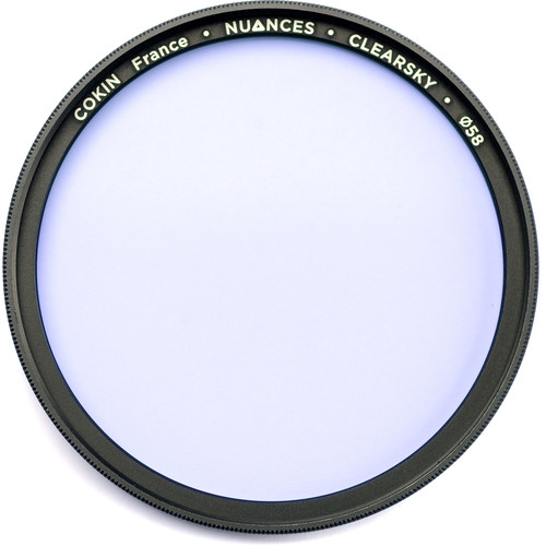 Cokin 58mm NUANCES Clearsky Filter