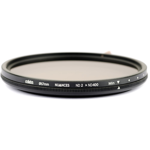 Cokin 67mm NUANCES Variable ND Filter (1 to 8-Stop)