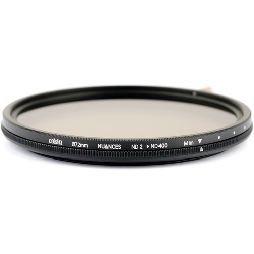Cokin 72mm NUANCES Variable ND Filter (1 to 8-Stop)