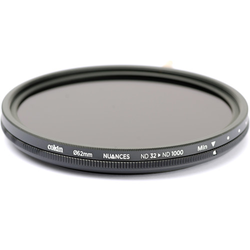 Cokin 62mm NUANCES Variable ND Filter (5 to 10-Stop)
