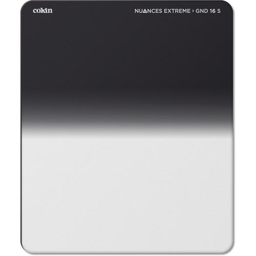 Cokin NUANCES Extreme P Series Soft-Edge Graduated Neutral Density 1.2 Filter (4-Stop)