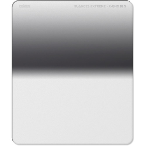 Cokin NUANCES Extreme P Series Soft-Edge Reverse-Graduated Neutral Density 1.2 to 0.9 Filter (4 to 3-Stop)