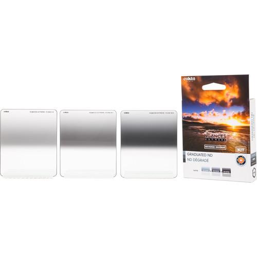 Cokin NUANCES Extreme P Series Soft-Edge Reverse-Graduated Neutral Density Filter Kit