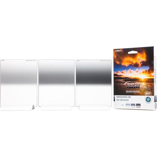 Cokin NUANCES Extreme X-Pro Series Soft-Edge Reverse-Graduated Neutral Density Filter Kit