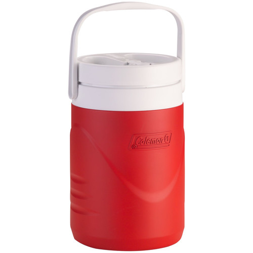 Coleman 1-Gallon Teammate Beverage Cooler (Red/White)