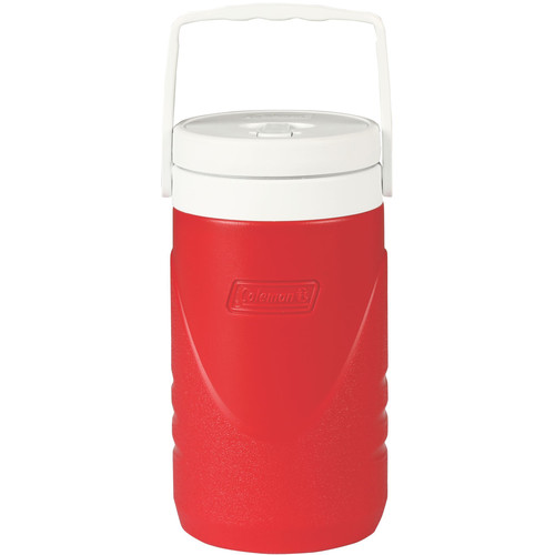 Coleman 1/2-Gallon Beverage Cooler (Red/White)
