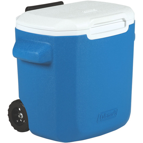 Coleman 16-Quart Performance Wheeled Cooler (Blue/White)