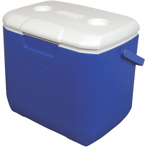 Coleman 30-Quart Excursion Cooler (Blue/White)
