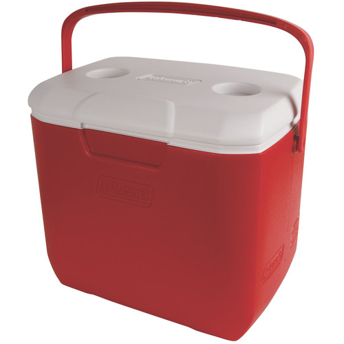 Coleman 30-Quart Excursion Cooler (Red/White)