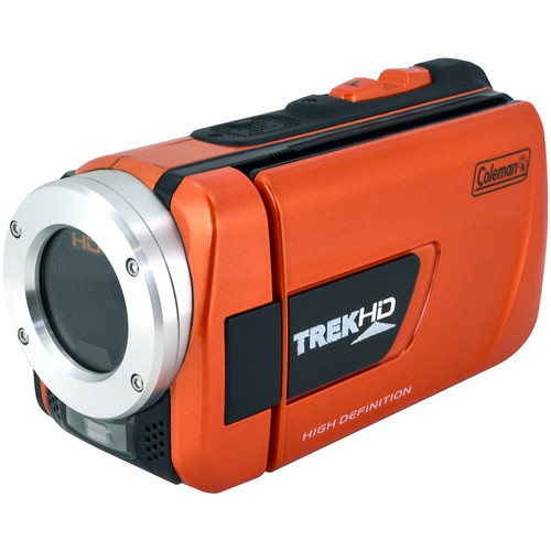 Coleman CVW16HD Waterproof Camcorder (Orange)