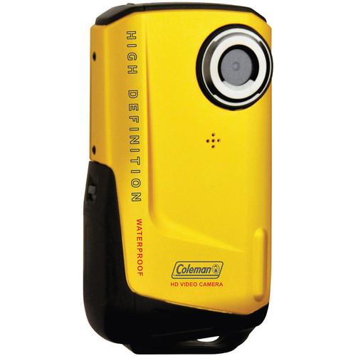 Coleman Waterproof HD Pocket Video Camera (Yellow)