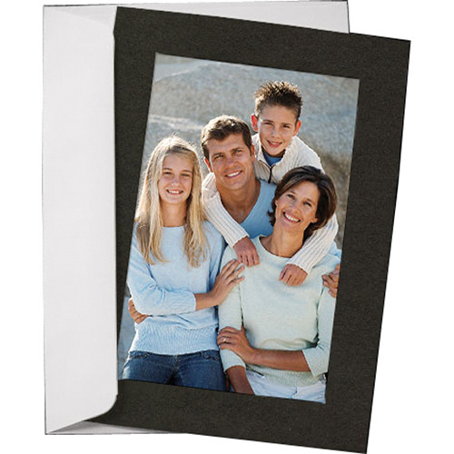 Collector's Gallery Photo Insert Cards (Black, 10 Pack)
