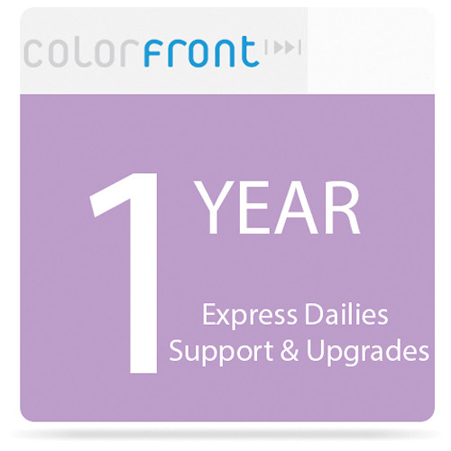 Colorfront Express Dailies 1-Year Support & Upgrades