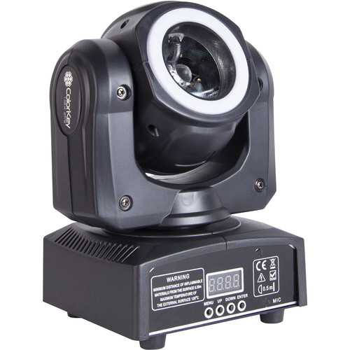 ColorKey Mover Halo Beam QUAD Compact Moving Head