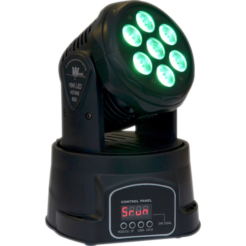 ColorKey Mover MiniWash QUAD-W7 - Moving Head LED Fixture