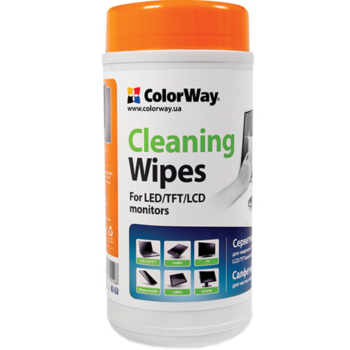 ColorWay Cleaning Wipes for Laptops and Monitors (100-Pack)